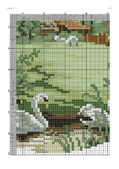 Gallery.ru / Фото #6 - Paisaje 70 - cnekane Cross Stitch House, Cross Stitch Cards, Cross Stitch Flowers, Cross Stitching, Cross Stitch Embroidery, Cross Stitch Patterns, Cross Stitch Landscape, Graph Design, Cross Stitch Pictures