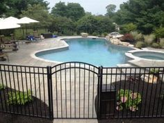 Swimming pools are usually found in many home backyards all around the country, and they come in a wide range of shapes, sizes and designs being surrounded by many landscaping types depending on the climate in the area.  Read more: http://howtobuildahouseblog.com/why-you-need-a-fence-around-your-pool/#ixzz2dzh7AFCn