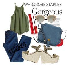 wardrobe staples, leggings