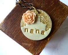 Mother's Day  Grandma Necklace  with ONE additional von Palomaria