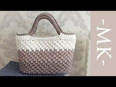 Crochet Square – Easy to Make (Tutorial) - Design Peak Bag Crochet, Crochet Market Bag, Crochet Handbags, Crochet Purses, Crochet Stitches, Crochet Backpack, Crochet Jacket, Crochet Granny, Bag Tutorials