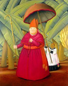 """""""Il Nunzio"""" by Fernando Botero, 2004"""