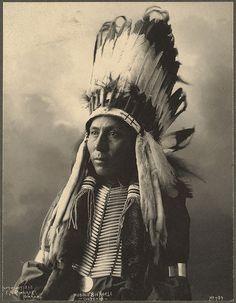 Hubble Big Horse, Cheyenne. F. A. Rinehart, 1898