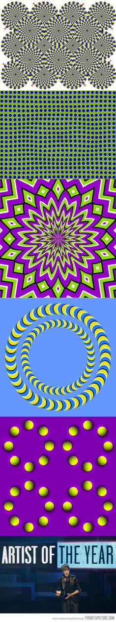 Interesting optical illusions