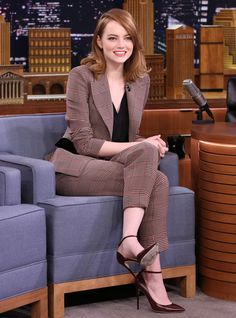 Le look d'Emma Stone