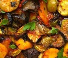 μπριαμ στη γαστρα Vegetarian Recipes, Cooking Recipes, Healthy Recipes, Healthy Food, Greek Recipes, Pot Roast, Tandoori Chicken, Good Food, Food And Drink