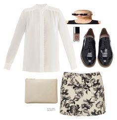 149 by szum on Polyvore featuring polyvore fashion style Chloé Topshop KG Kurt Geiger Comme des Garçons Le Specs Chanel clothing