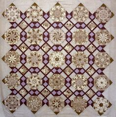 Linda Rotz Miller Quilts & Quilt Tops - She makes the most beautiful stack and whack quilts.