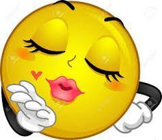 Bildergebnis für smileys die sich küssen