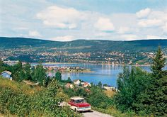 Norge: The Town of Lillehammer, Norway by National Library of Norway, via Flickr ::: Lillehammer, site of the 1994 Winter Olympics, is most spectacular in winter, but even amazing in the summer as well. Enjoy hundreds of outdoor activities or just relax in the serenity of LakeMjøsa.