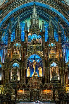 Basilique Notre-Dame - Montréal - Quebec - Canada