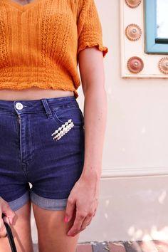 3 lenge, vidám szett - Nyári outfit inspiráció   Stay Smart & Stylish Hello Life, Farmer, Denim Shorts, Zara, Stylish, Outfits, Women, Fashion, Jean Shorts