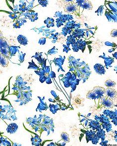 Harper - Bluebell's Garden - White