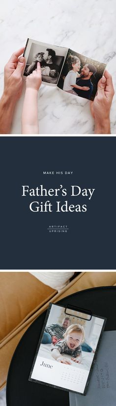 Make his day.   Create a photo gift for dad this Father's Day from @artifactuprsng (we promise –he'll love it!).