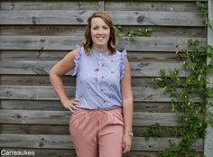 Een Franstalig patroon, de higgins blouse