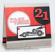 Susie Rostad Photography: Fast and Furious! Race Car Birthday, Birthday Cards For Boys, Birthday Kids, Boy Cards, Kids Cards, Heart Cards, Fall Cards, Fast And Furious, Masculine Cards