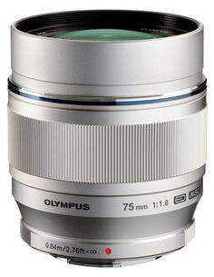 Olympus reveals fast telephoto prime lens