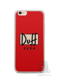 Capa Iphone 6/S Plus Cerveja Duff - SmartCases - Acessórios para celulares e tablets :)
