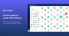 Icons Pattern by Flaticon