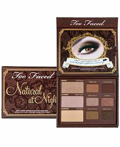 Too Faced Natural at Night Sexy and Sultry Neutral Eye Shadow Collection - Too Faced - Beauty - Macy's