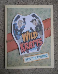 wild kratts party