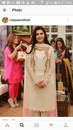 Colors & Crafts Boutique™ offers unique apparel and jewelry to women who value versatility, style and comfort. For inquiries: Call/Text/Whatsapp Pakistani Casual Wear, Pakistani Outfits, Indian Outfits, Indian Attire, Indian Wear, Kurta Designs, Blouse Designs, Ethnic Fashion, Indian Fashion