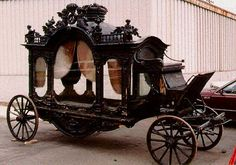 The use of the horse-drawn hearse to carry the coffin initially indicated wealth and status, but gradually became an accepted part of many funeral processions. Description from pinterest.com. I searched for this on bing.com/images