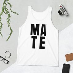 Soul Mate Matching Couple Tank Top Matching Couple Gifts, Matching Couples, Timeless Classic, Bella Canvas, Tank Tops, Products, Fashion, Moda, Halter Tops
