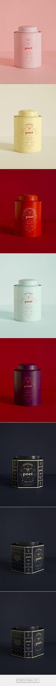 Studio Patten - Poet tea PACKAGING DESIGN World Packaging Design Society│Home of Packaging Design│Branding│Brand Design│CPG Design│FMCG Design - created via https://pinthemall.net