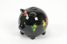 Piggy Bank Preto Multicolour   A Loja do Gato Preto   #alojadogatopreto   #shoponline   referência 72943944