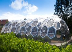 he SPACEPLATES GREENHOUSE is a greenhouse version of new building system developed by N55 in collaboration with  Anne Romme.