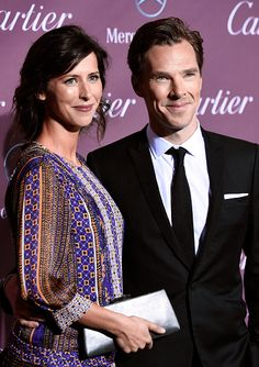 January 3, 2015 ~ Benedict Cumberbatch & Sophie Hunter at the 26th Annual Palm Springs International Film Festival Awards Gala.