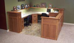 basement office ideas