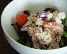 Gluten-Free, Casein-Free Chicken Salad #Recipe  http://www.stockpilingmoms.com/2012/11/gluten-free-casein-free-chicken-salad/