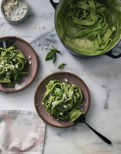 tallarines verde - best spring recipes