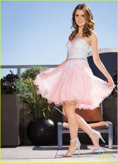 We feel like we should bow down to Laura Marano in this new prom feature for Justine magazine -- she looks so royal!
