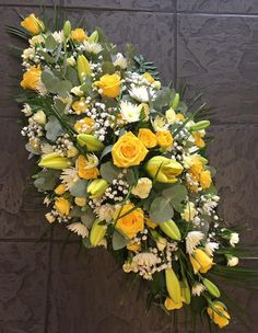 Please call us on 0121 730 2443 for all your Funeral flower enquiries or pop in and meet our friendly florists for a more personal service. Flower Wreath Funeral, Funeral Flowers, Wedding Flowers, Funeral Floral Arrangements, Flower Arrangements, Flower Centerpieces, Flower Decorations, Casket Flowers, Funeral Caskets