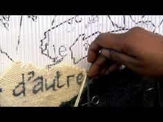 "William Kentridge: Weaver Marguerite Stephens   Art21 ""Exclusive"" - YouTube"