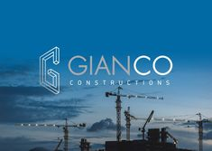 Λογότυπο για το τεχνικό γραφείο @gianco.gr //Logo for Gianco Engineering// Neon Signs, Construction, Projects, Building, Log Projects, Blue Prints