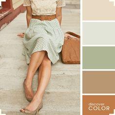 Como se vestir combinando as cores corretamente.