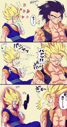 Dragon Ball Z, Dragon Ball Image, Gogeta And Vegito, Dibujos Anime Chibi, Dragon Super, Best Anime Shows, Funny Dragon, Super Anime, Black Anime Characters
