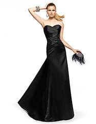 Pronovias presents the Zoraida cocktail dress from the 2013 Long Dress collection. | Pronovias
