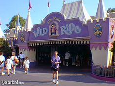 I miss. . .Mr. Toad's Wild Ride for years past at Magic kingdom Disney World. (now it is The Many Adventures of Winnie the Pooh)