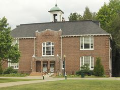 Marshbanks Hall at Mars Hill College in North Carolina