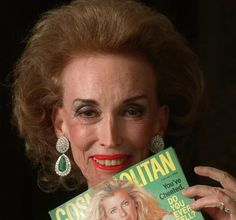 Helen Gurley Brown feminist; publisher of the often controversial Cosmopolitan magazine was born today 2-18 in 1922.  She passed Aug 13, 2012.