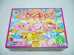 """Kracie"" Popin Cookin Ice Cream Cake Shop DIY Japanese Candy Kit !! #KracieJAPAN"