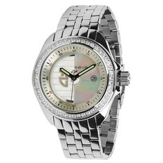 Android Men's Rotator Automatic Gemstone White Watch