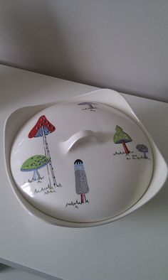 Midwinter Toadstools Tureen by Toadstools_, via Flickr