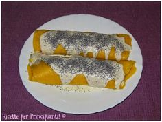 Ricette per Principianti!: Crepes vegane con funghi, salsa di mandorle e semi...