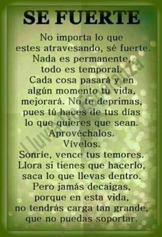 Spanish Inspirational Quotes, Spanish Quotes, Gods Love Quotes, Love Yourself Quotes, The Words, Bible Quotes, Me Quotes, Vie Positive, Jolie Phrase